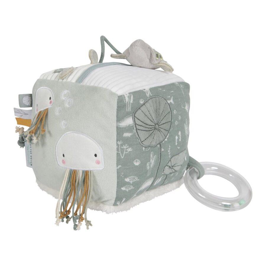 Little Dutch Soft activity cube - Ocean mint LD4817