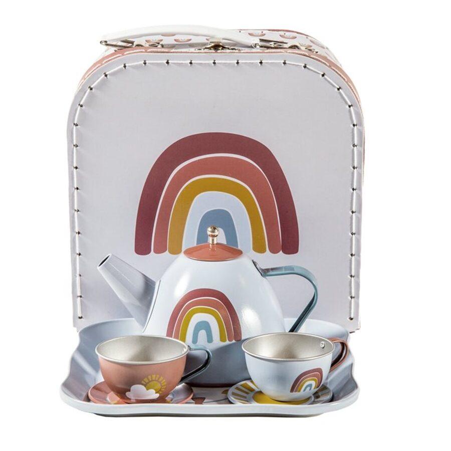 Little Dutch Tea set in case 2005390