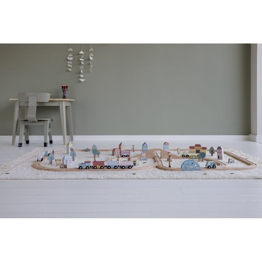 Little Dutch Railway Collection - Traintrack city LD4487