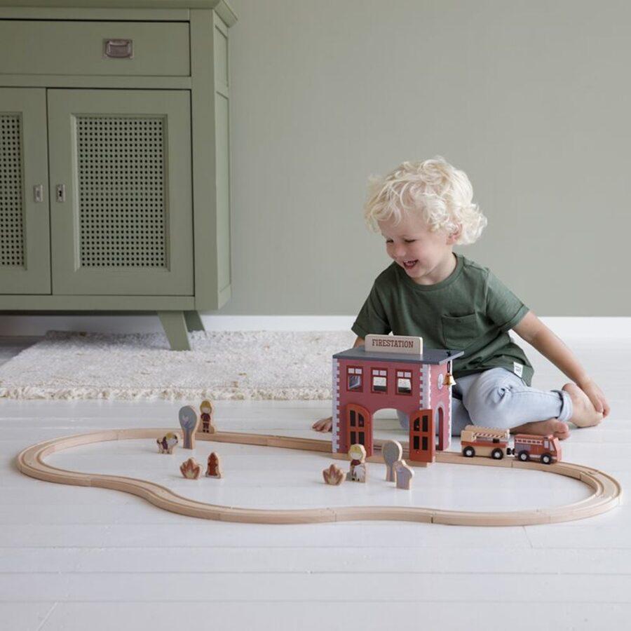 Little Dutch Railway Collection - firedepartment LD4490