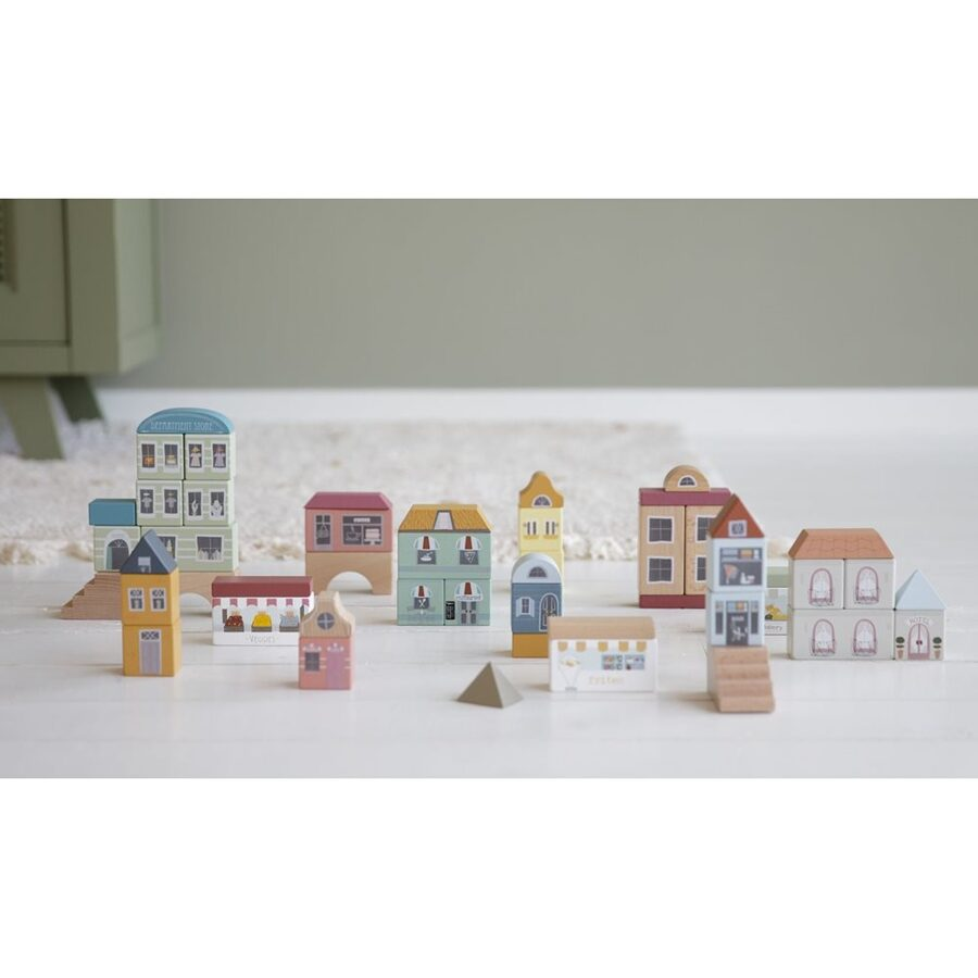 Little Dutch Railway Collection - 50 blocks - city LD4493