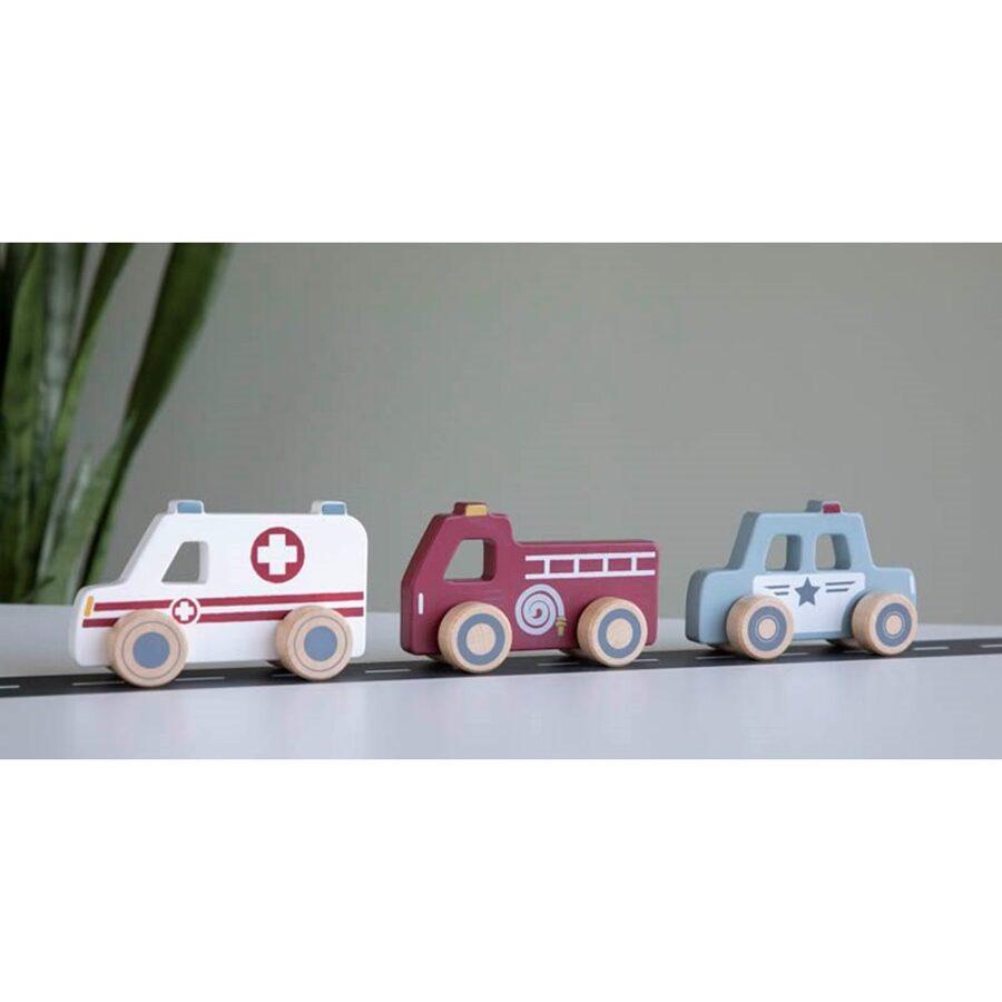 Little Dutch Emergency Service Vehicles LD4388