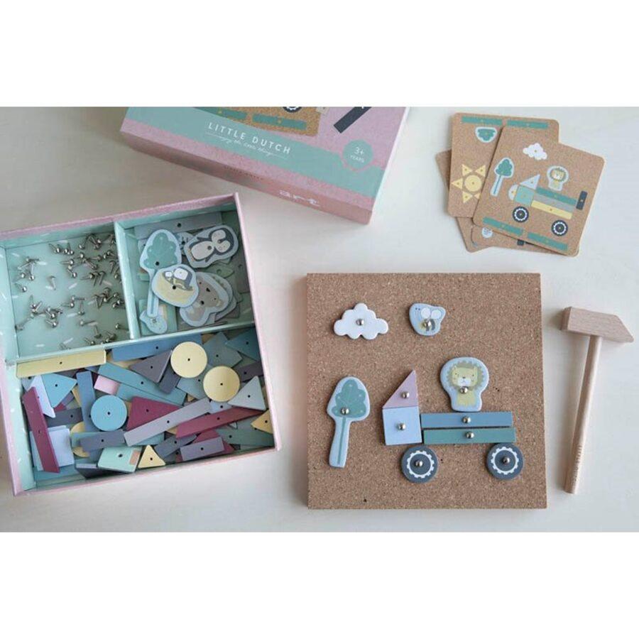 Little Dutch Tap Tap art set - 162 pieces LD4482