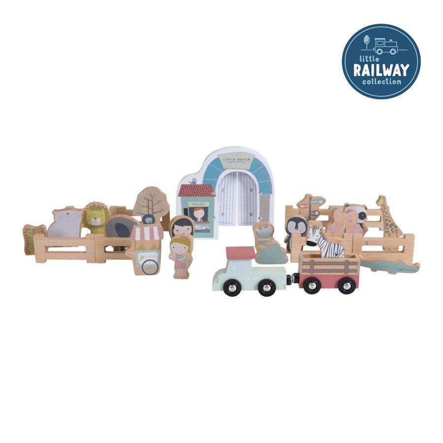 Little Dutch Railway Collection - zoo LD4488
