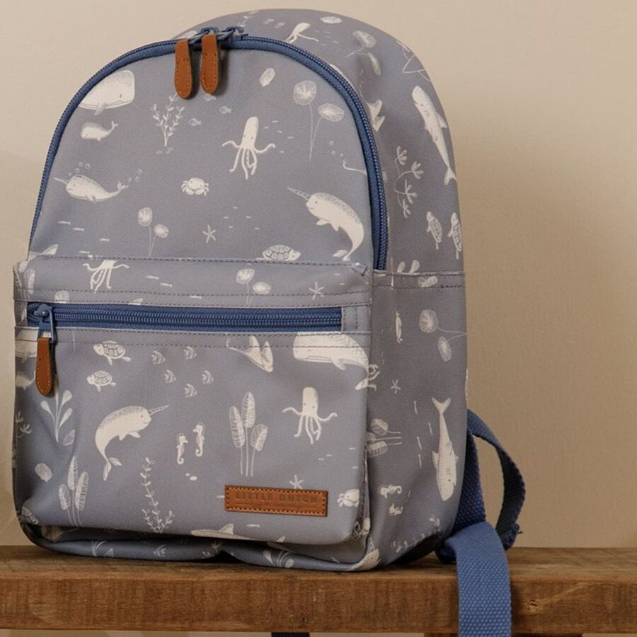 Little Dutch Kids backpack Ocean blue LD4942
