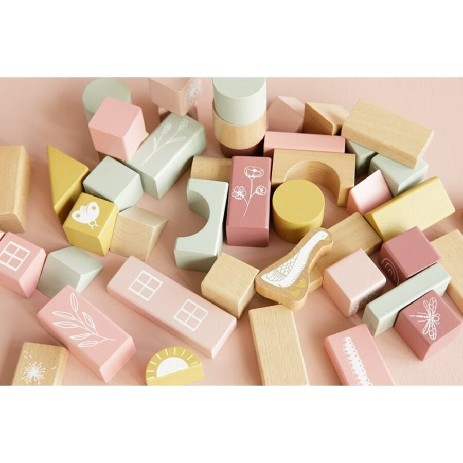 Little Dutch Building Blocks pink LD7018