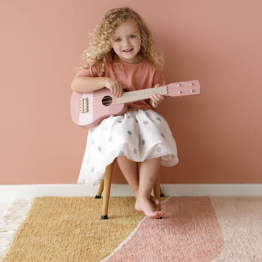 Little Dutch Guitar pink LD7014