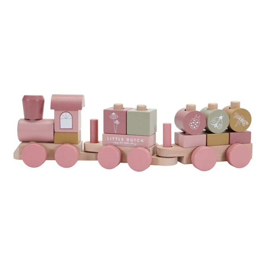 Little Dutch Stacking Train Flowers LD7035