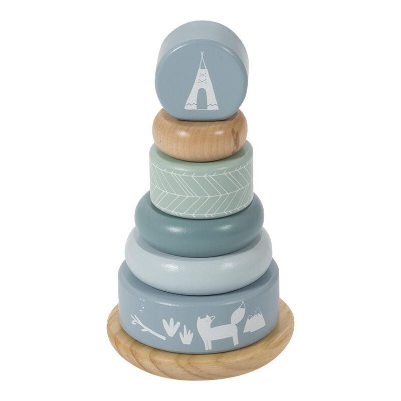 Little Dutch Rocking ring stacker Adventure blue LD4401