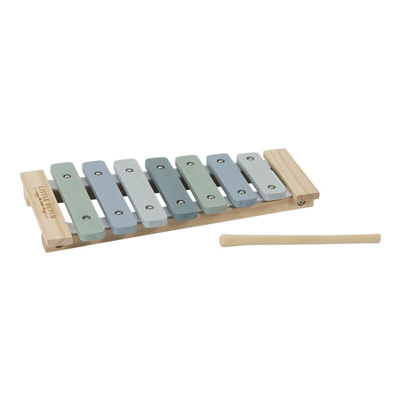 Little Dutch Xylophone Adventure blue LD4411