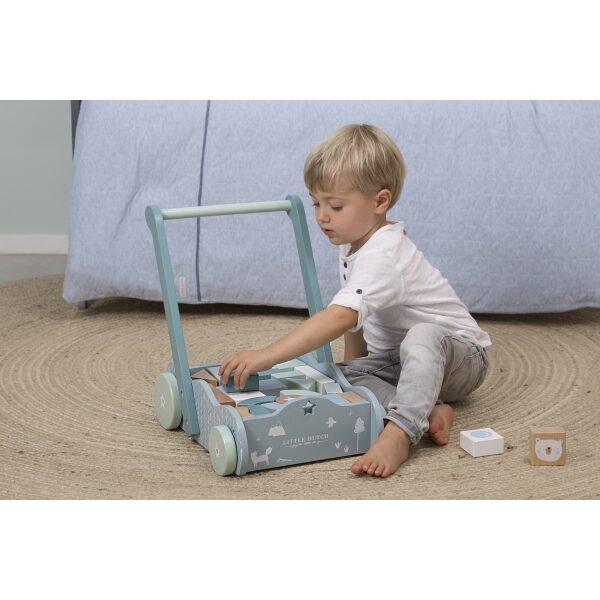Little Dutch Baby walker Adventure blue LD4415