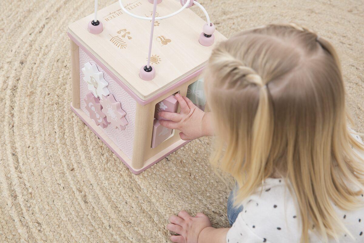 Little Dutch Activity cube Adventure pink LD4427