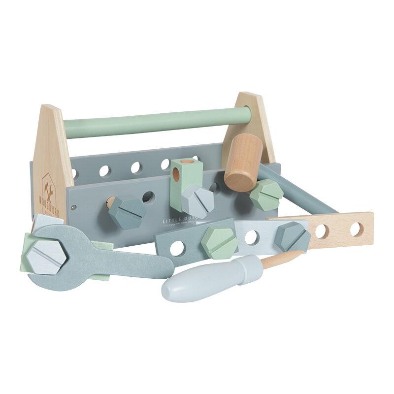Little Dutch Wooden toolbox - 20 pcs LD4434