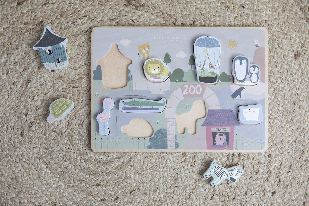 Little Dutch Shape puzzle - Zoo LD4444