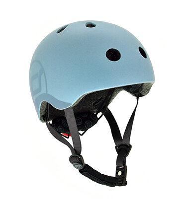Scoot and Ride Helmet Steel S-M