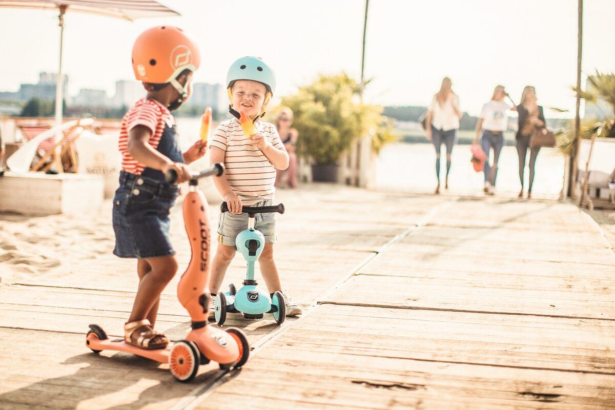 Scoot and Ride Helmet Blueberry XXS-S