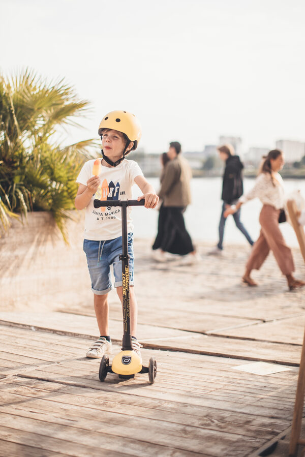 Scoot and Ride Helmet Lemon S-M