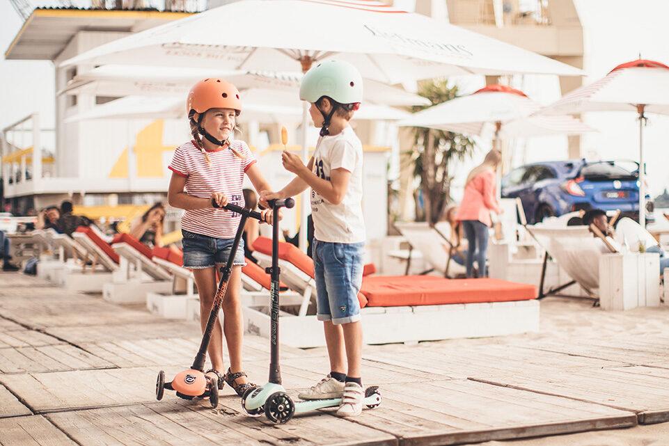 Scoot and Ride Helmet Kiwi S-M