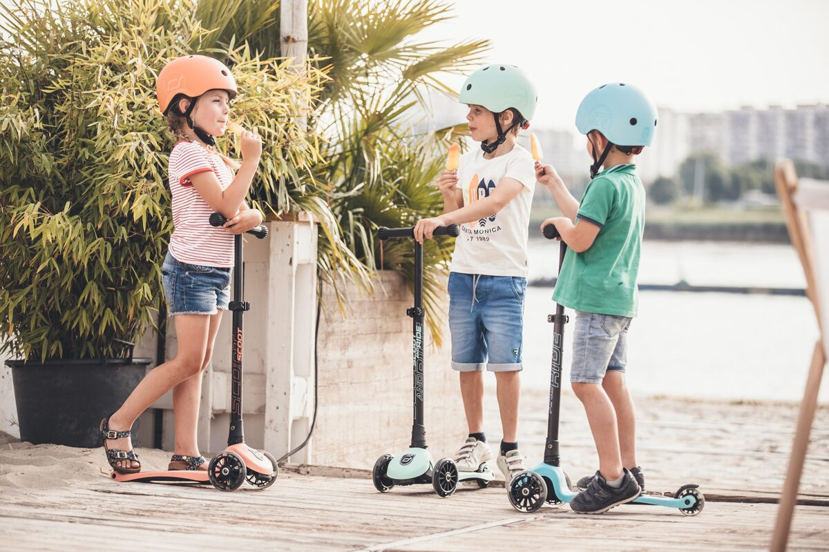 Scoot and Ride Highwaykick 3 LED Blueberry