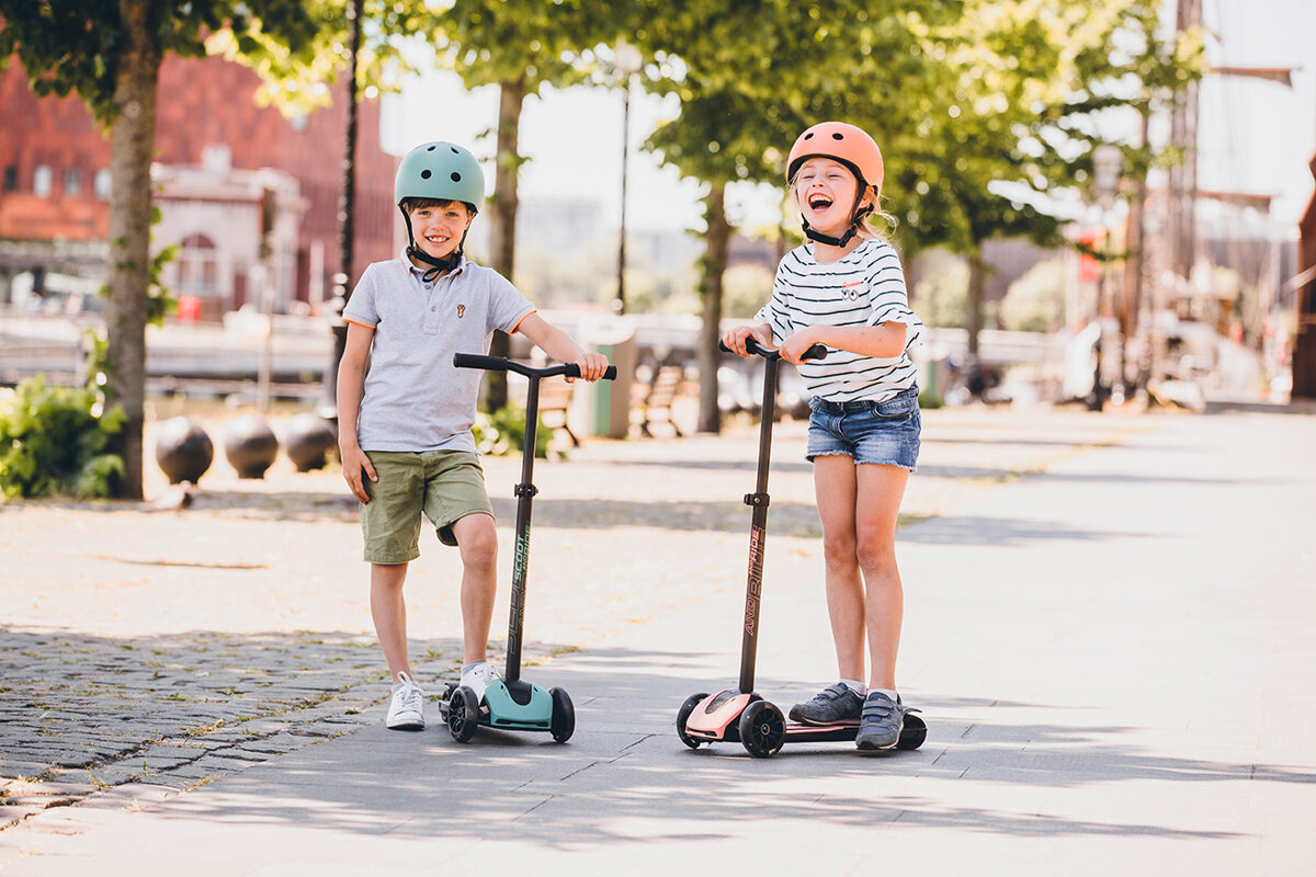 Scoot and Ride Helmet Forest S-M