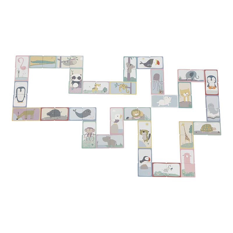 Little Dutch Domino puzzle - Zoo LD4449