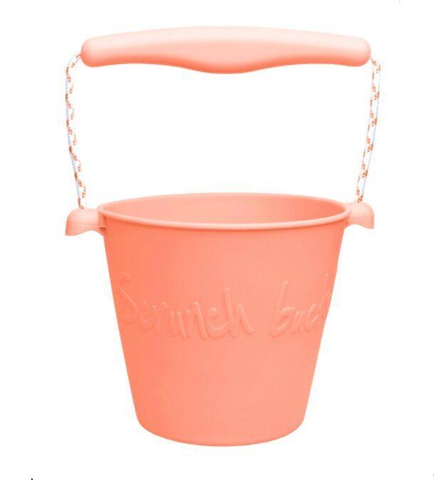 Scrunch bucket - coral 110003