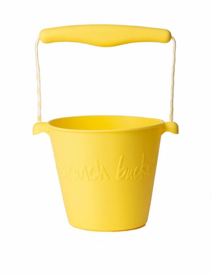 Scrunch bucket - pastel yellow 110016