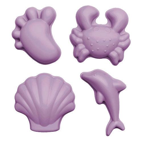Scrunch moulds - dusty light purple 110048