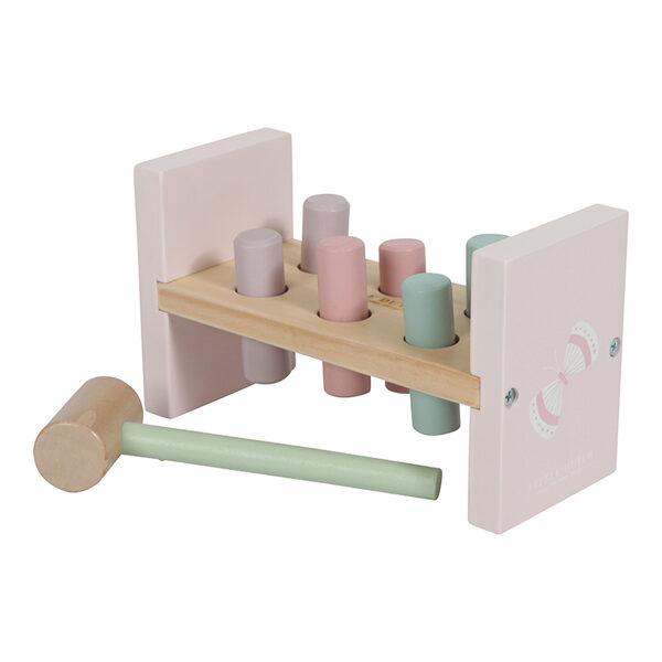 Little Dutch Hammer bench Adventure pink LD4424