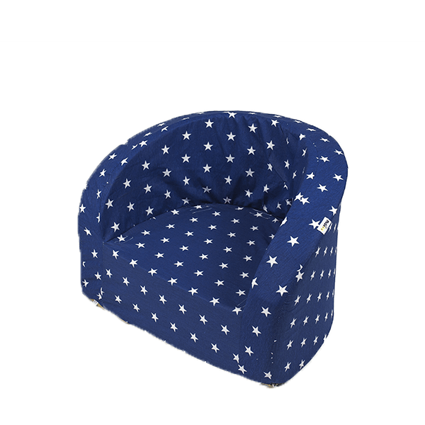 MiSiOO Armchair Smart - Navy Blue With White Stars (Available now)