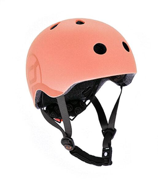Scoot and Ride Helmet Peach S-M