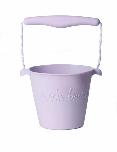 Scrunch bucket - dusty light purple 110005